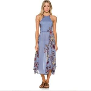 Free People Seasons in the Sun Floral Maxi Dress